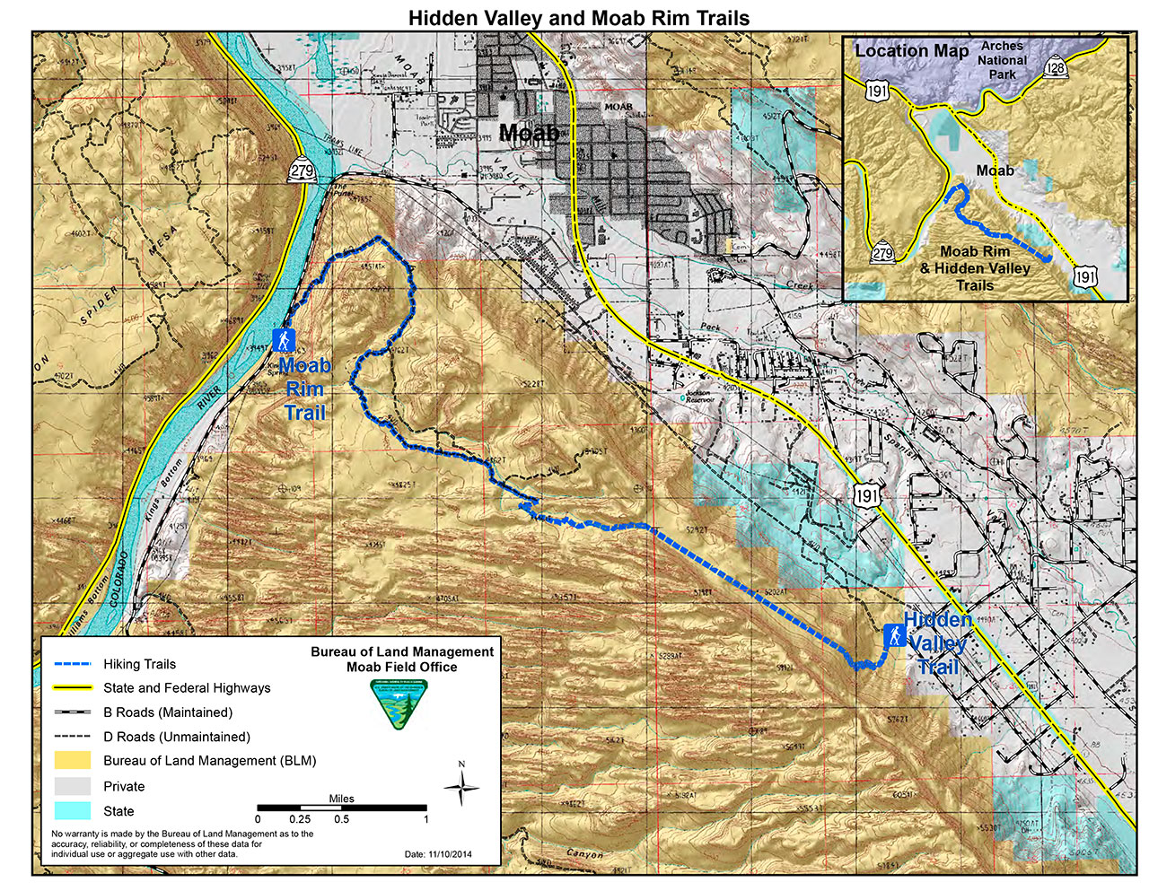 Short Creek Utah Map.Moab Hikes And Area Hiking Trails Discover Moab Utah