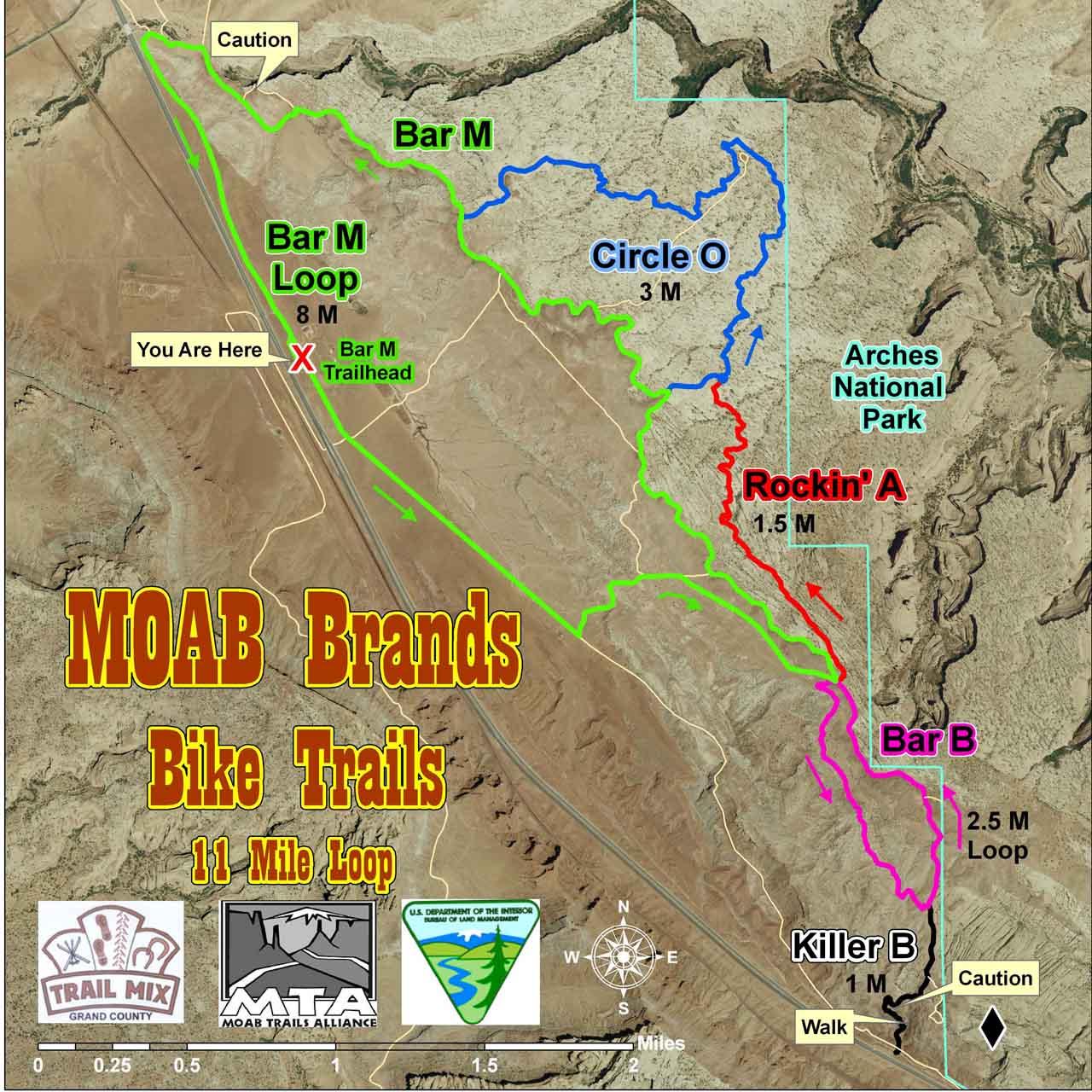 Family Activities-Bar M Loop - Discover Moab, Utah