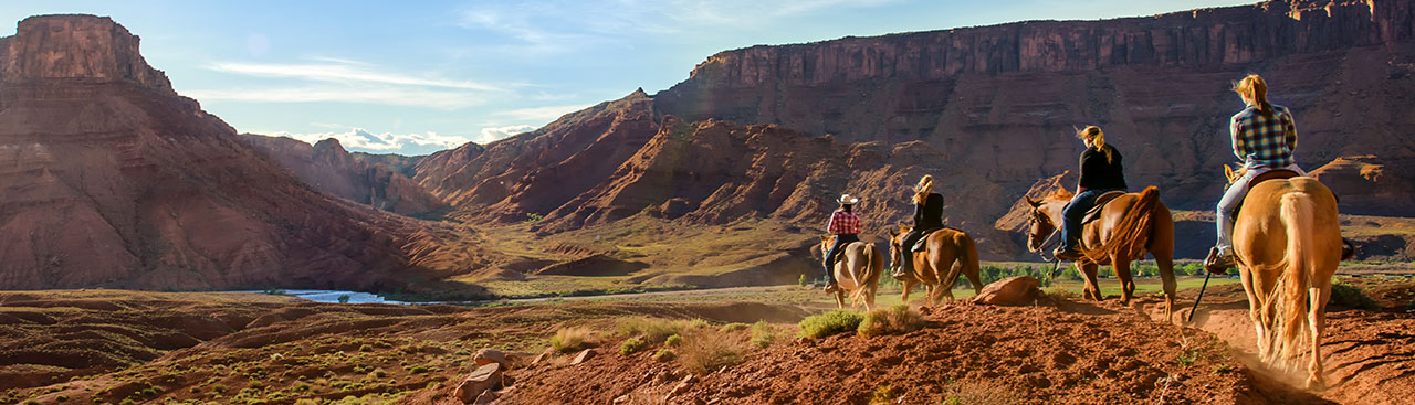 Horseback Riding in Moab
