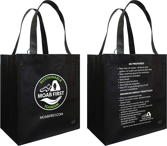 MoabFirst Reuseable Bags