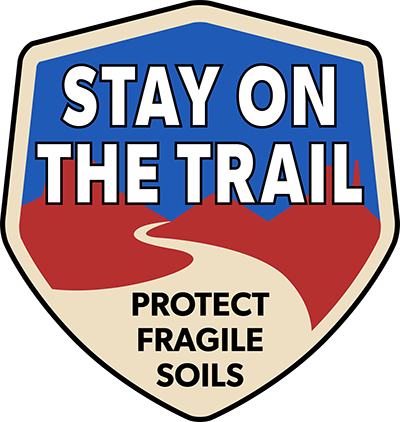 Stay on the Trail Logo