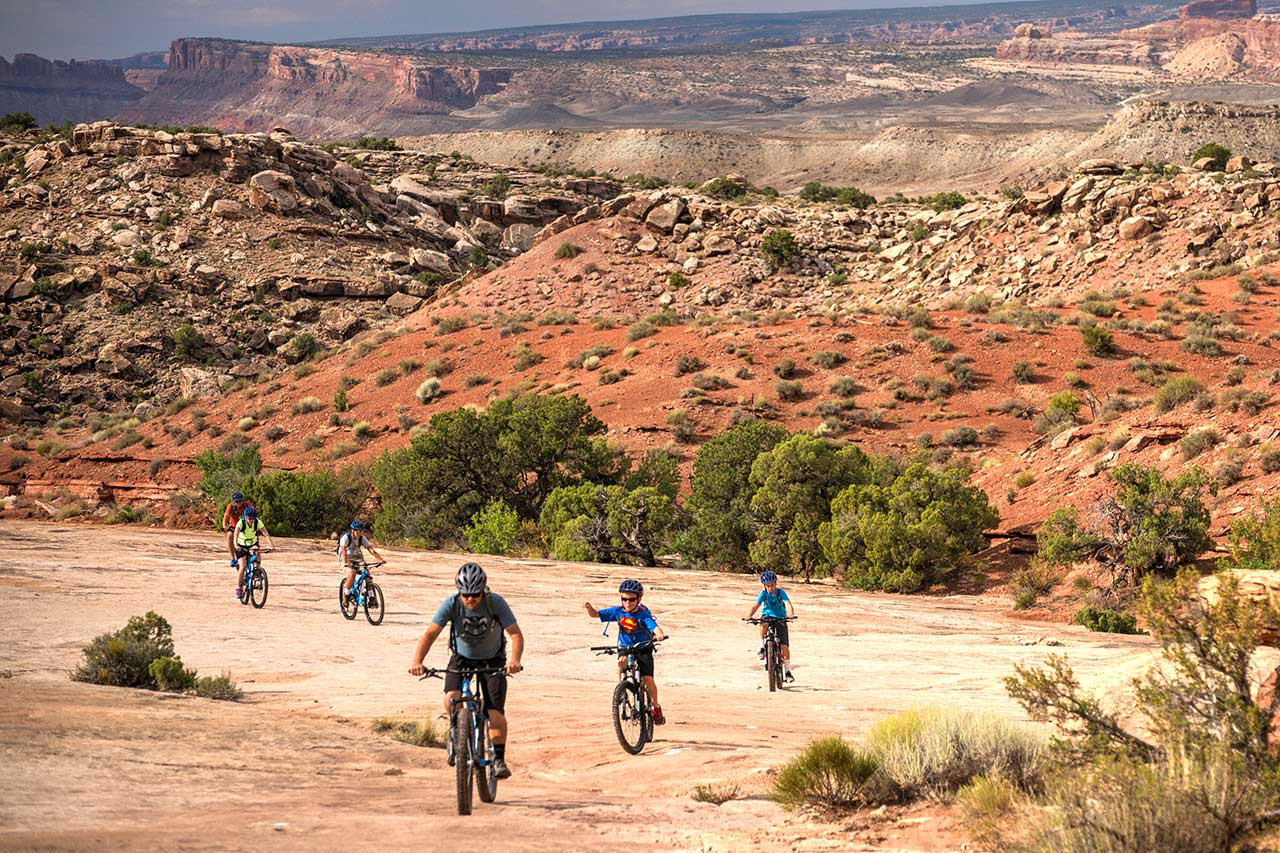 Mountain Biking near Moab