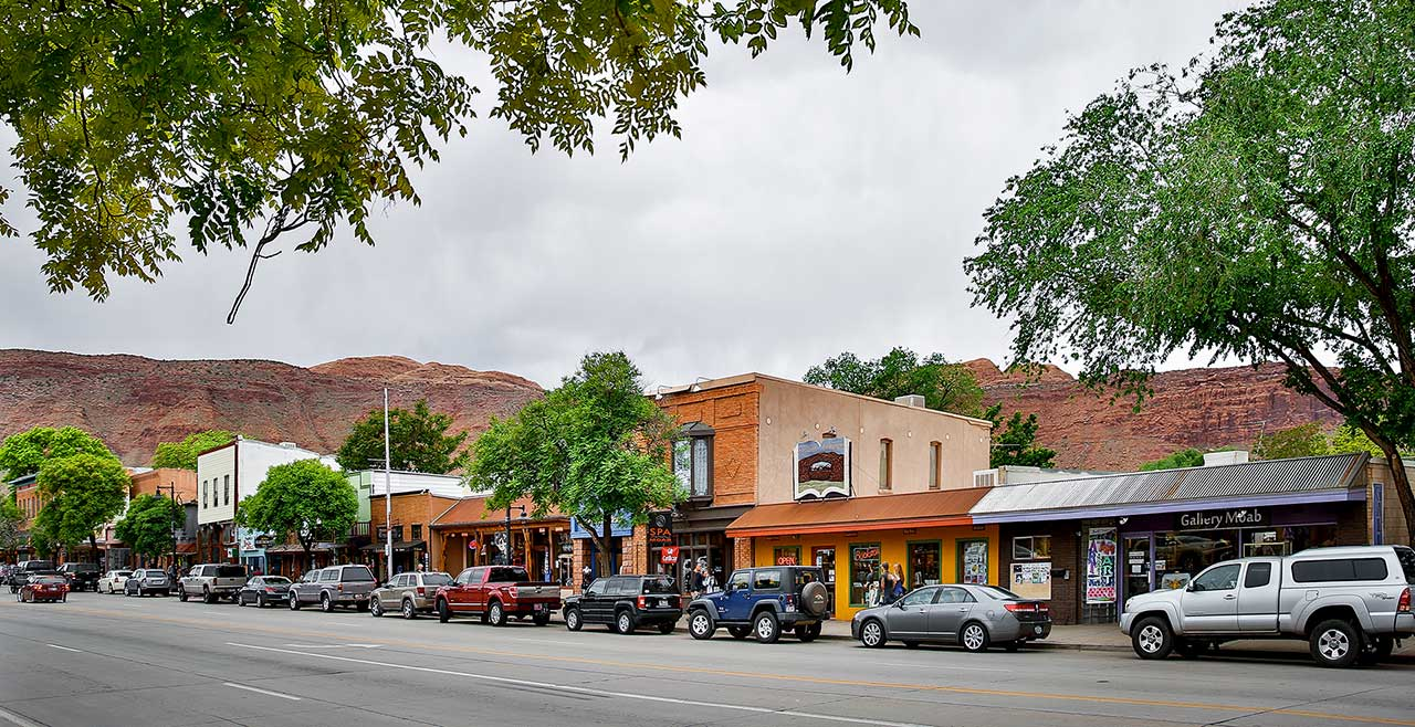 Downtown Moab, Utah