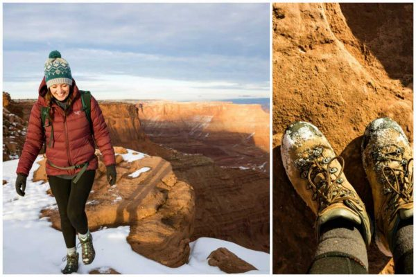 Dead Horse Point Winter Hiking