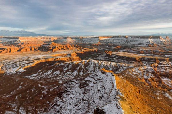 Dead Horse Point Winter Sunset