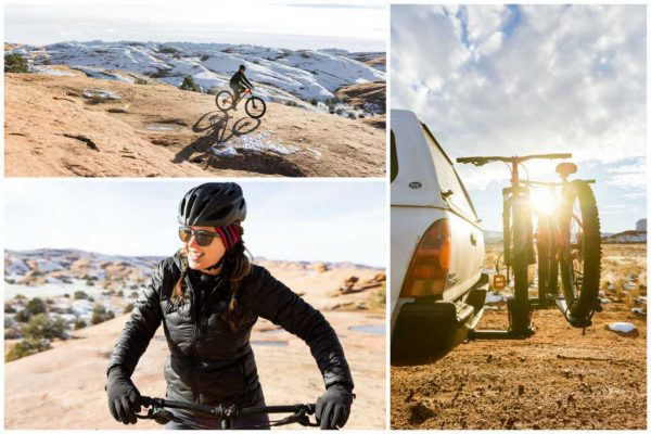 Slickrock Bike Trail in Winter