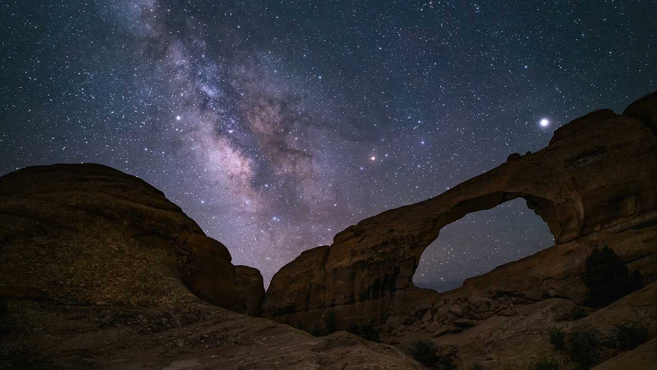 Arches National Park Dark Skies