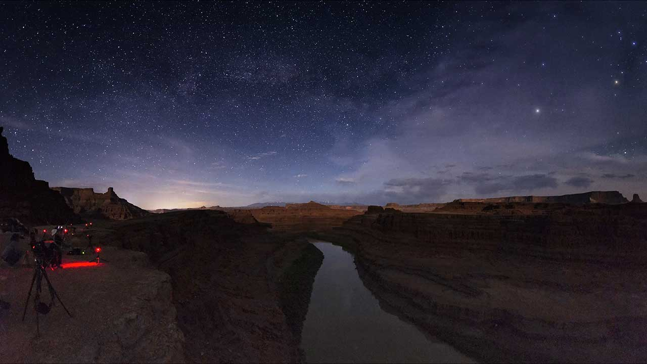 Dead Horse Point State Park Dark Skies