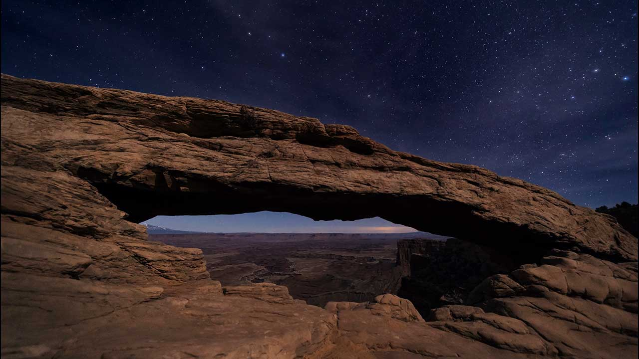 Canyonlands National Park Dark Skies